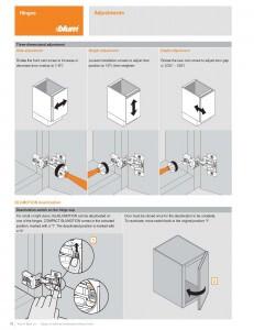 Concealed Hinge Adjustment