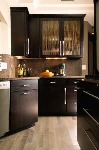 Cameron QS White Oak Espresso kitchen