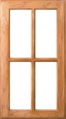 4-Lite Mullion  sc 1 st  Woodharbor & Frame Doors - Door Style - Woodharbor